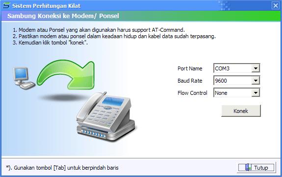 konek modem