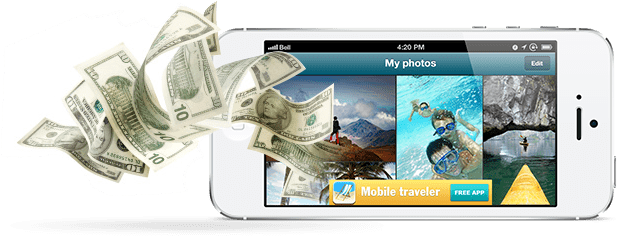 Sediakan sedikit space pada aplikasimu untuk iklan, Dollar-pun mengalir ke paypalmu..