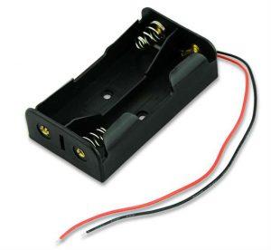 Dual-Slot-Baterai-Pemegang-Kasus-Box-Untuk-Dua-18650-Baterai-Li-ion-pemegang-Kasus-Dengan-Kawat