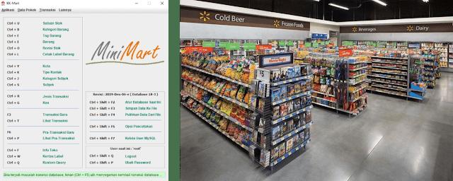 Software MiniMart Gratis buatan mas Yudhi